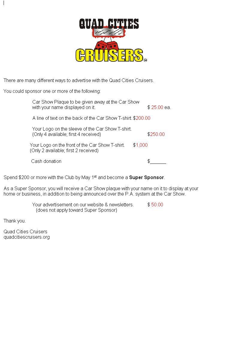 Similiar T Shirt Sponsorship Letter Keywords – Sponsorship Invoice